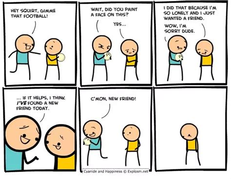 Are There Any Cyanide & Happiness Comic Strips On