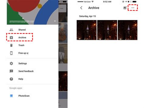 hidden google album cloud want app hide unarchive select ultimate guide
