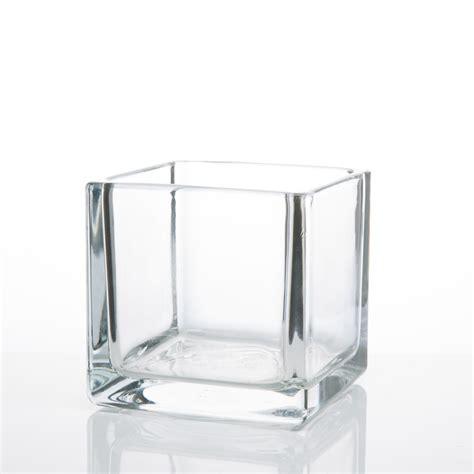 square glass vases square glass vases 4x4