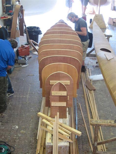 strip plank canoe boat building academy