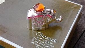 Elephant Porte Bonheur : un l phant porte bonheur orf vre christofle paris catawiki ~ Melissatoandfro.com Idées de Décoration