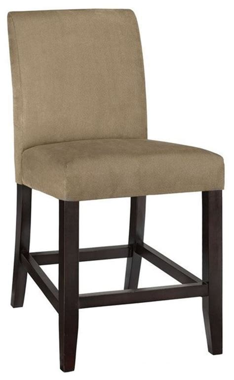 slipcovers for bar chairs parsons slipcover counter stool 42 5 quot hx20 quot w beige