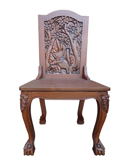 indonesian teak dining table carved wood furniture