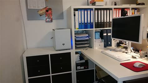 Ikea Kallax Tür Einbauen by Tagebuch Pc Einbau In Ikea Kallax Regal