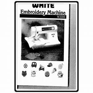 Instruction Manual  White 3300   Sewing Parts Online