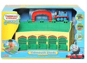 take n play tidmouth sheds friends take n play tidmouth sheds playset brand