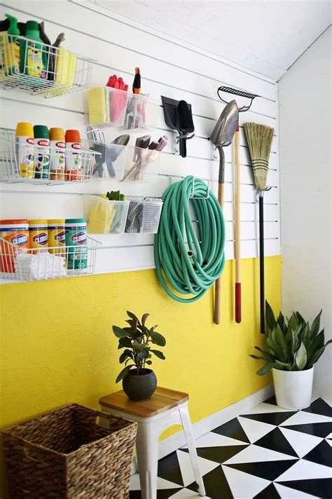 Awesome Diy Garage Organization Ideas Landeelu