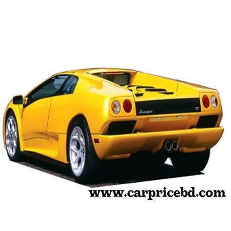 lamborghini diablo  car price specifications  car