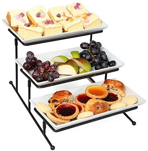 kenley  tier serving tray tiered stand