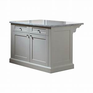 martha stewart living maidstone 54 in white kitchen With home depot kitchen furniture island