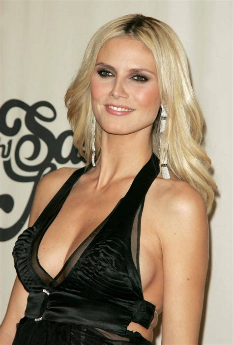 Best Cleavages In The World Heidi Klum Cleavage