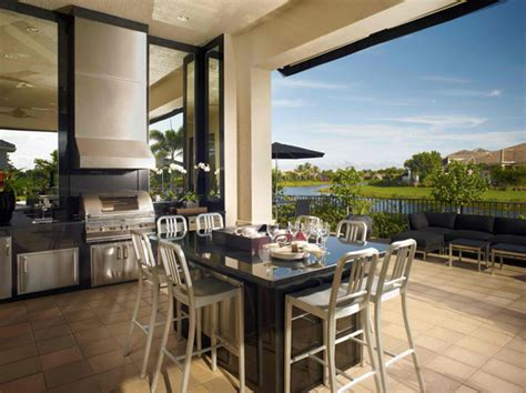awesome contemporary outdoor kitchen designs home design lover
