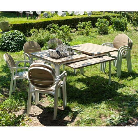 poltrone allungabili tavolo tavolo alloro 6 poltrone palma rettangolari