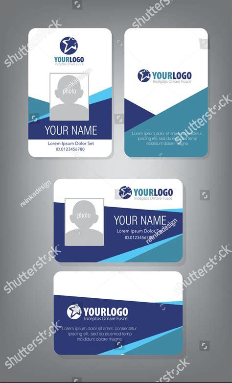 professional id card designs  psd eps ai