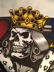 King Playing Card Skull Tattoos