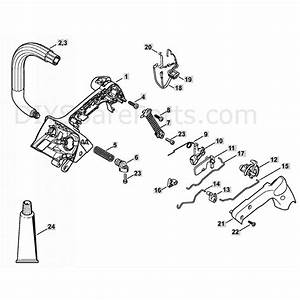 Stihl Ms 201 T Chainsaw  Ms201 T  Parts Diagram  Handle