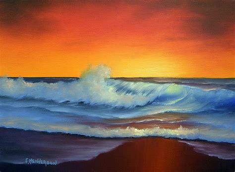 Easy Ocean Acrylic Painting Ideas