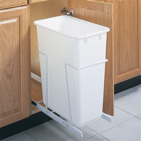 pull  cabinet trash   quart  cabinet trash cans