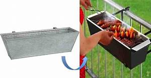 DIY Handrail Barbecue for Tiny Patios - Do-It-Yourself Fun