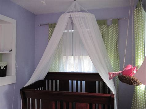 Baby Crib Tulle Canopy A Cute Idea For Ur New Baby Girl