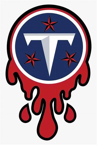 Titans Tennessee Logos Clipart Nfl Transparent Clip