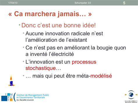 innovation dans l innovation schumpeter 3 0