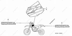 Honda Motorcycle 2000 Oem Parts Diagram For Marks
