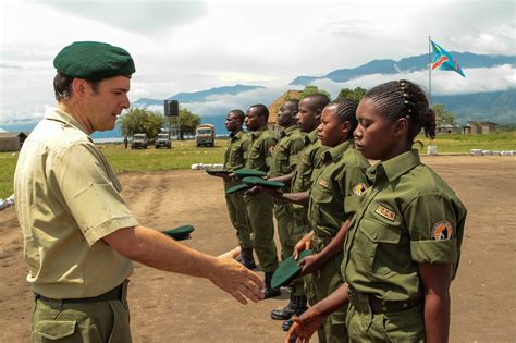 in the of the ranger new virunga rangers complete their virunga national park