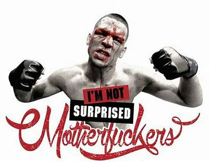 Diaz Nate Ufc Surprised Motherfucker Mma Brothers
