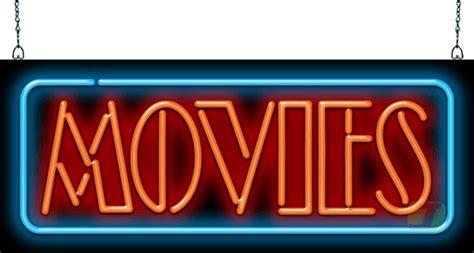 movies neon sign mg   jantec neon