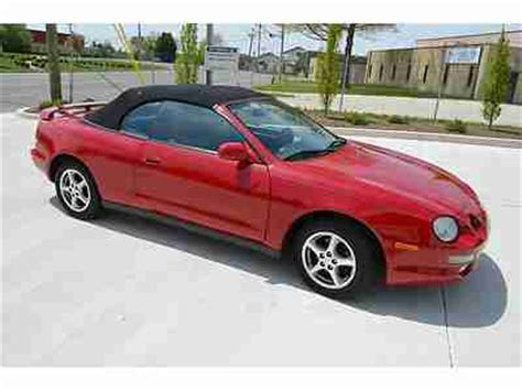 electric and cars manual 1998 toyota celica on board diagnostic system purchase used 1998 toyota celica gt 5 speed manual convertible leather no reserve in