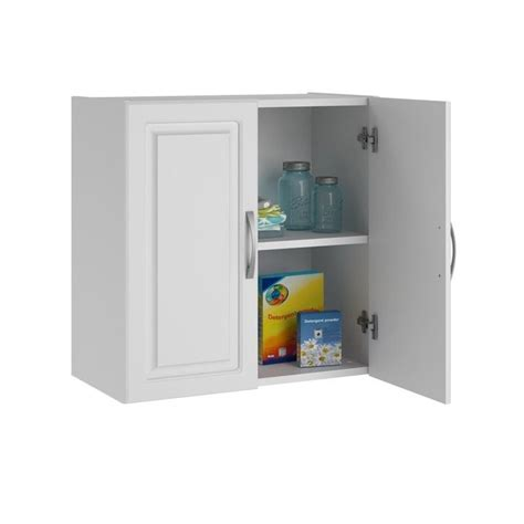 system build storage cabinet systembuild 24 quot wall white aquaseal storage cabinet ebay