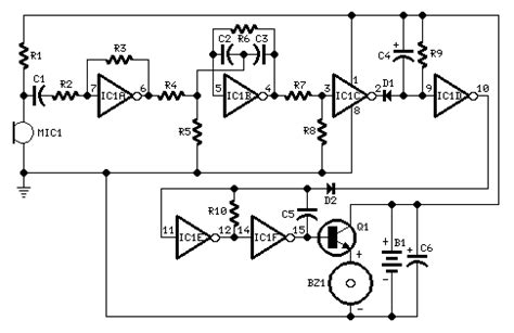 How Build Whistle Responder Circuit Diagram