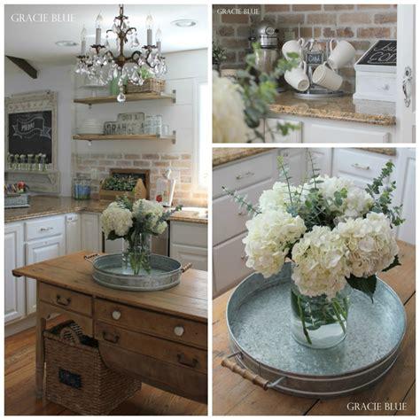 Ideas To Organize Kitchen Cabinets - gracie blue farmhouse home tour