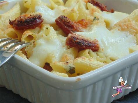 gratin de p 226 tes au chorizo et fromages yumelise recettes de cuisine