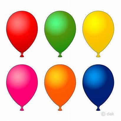 Balloons Balloon Clipart Ballon Colors Fall Graphics