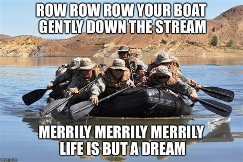 Row The Boat Meme rowing boat small imgflip