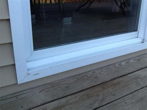 How To Seal A Basement Wall by Leaking Sliding Glass Door Doityourself Com Community Forums