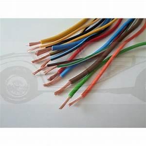 Section Fil Electrique : fil lectrique sp cial automobile 065mm ~ Melissatoandfro.com Idées de Décoration