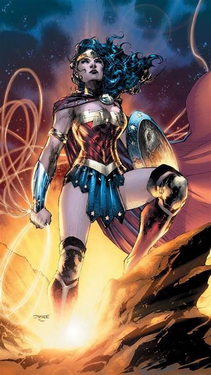 Wonder Woman Comic Dc Artwork Wallpapers 4k
