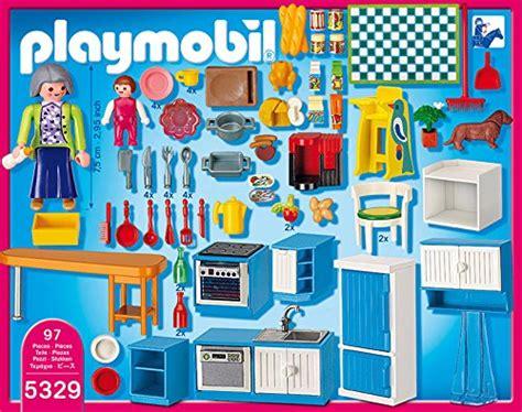 playmobil cuisine 5329 5329 cuisine de playmobil