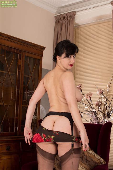 Busty mature russian milf Nikita Fondled Nice Older Woman Tits