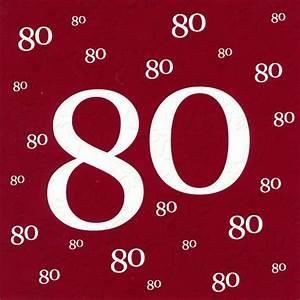 Besinnliches Zum 80 Geburtstag : 80 geburtstag ~ Frokenaadalensverden.com Haus und Dekorationen