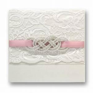new arrivel elegant handmade lace wedding invitation with With elegant wedding invitations with rhinestones and lace