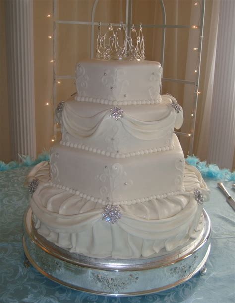4 tier wedding cake hexagon and 4 tier wedding cake 1112