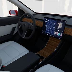 Tesla Model Y RWD Red with interior and chassis in 2020 | Tesla model, Tesla interior, Tesla