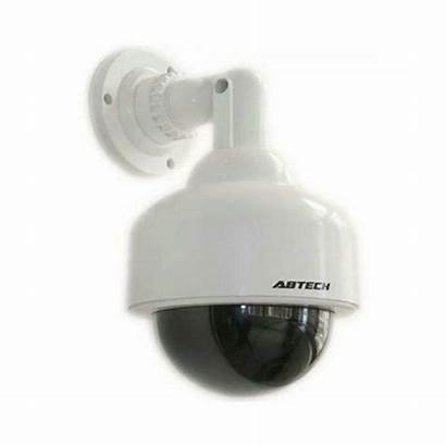 Camera Blinking Flashing Dummy Dome Fake Security