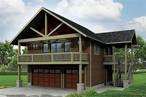 Craftsman House Plans Garage WApartment 20 152