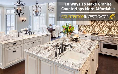 low cost countertop options granite countertops cost 10 ways to get them for less