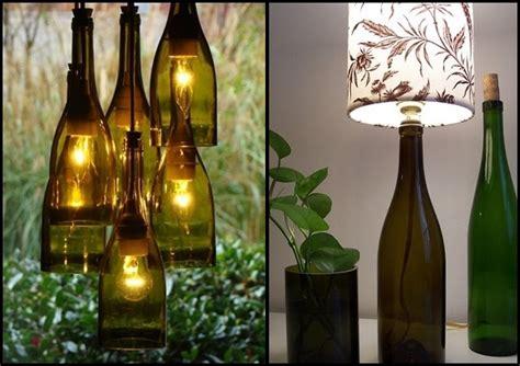 ways  reuse glass bottles  ideas   wine bottles